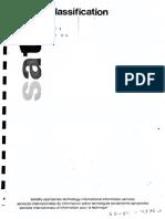 SATIS Classification PDF