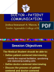 05 the Doctor - Patient Communication