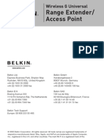 Belkin Wireless Manual