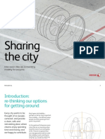 Sharing the City Urban Mobility