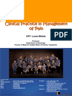 Lesson Learned From Clinical Practice in Management of Pain - Prof Lucas Meliala