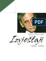 Izvjestaji Mazowiecki 1992-1995-Final Bos
