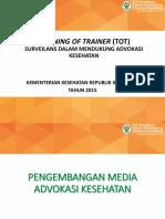 MI.5 Pengembangan Media Advokasi Kesehatan Update