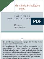 A Origem Da Psicologia Científica