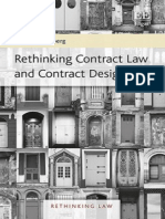 Rethinking Contract Law and Contract Design