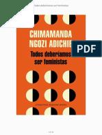 Adichie Chimamanda Ngozi - Todos deberíamos ser feministas.pdf