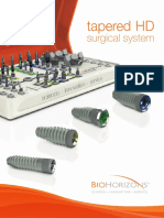 Biohorizons Tapered Hd Surgical System