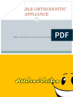 Removable Orthodontic Appliance Ppt Utk Unimus