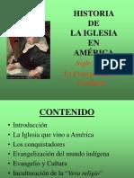 Historia Iglesia Amrica XVI (1)