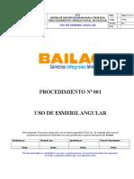 001 Uso de Esmeril Angular