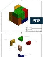 drawing file of puzzle cube parts