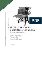 Kupdf.com Entre Adolescentes y Adultos en La Escuela