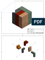 puzzle cube  technical drawings