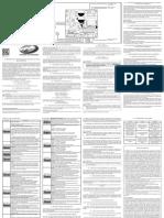 Manual de Instruções Triflex Top