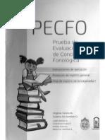 Instrucciones y Registro PECFO