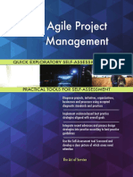Agile Project Management Quick Exploratory Self-Assessment Guide