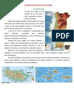 Caraterísticas Biofísicas de Portugal