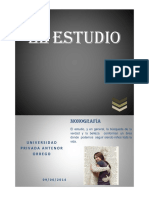 Monografia de Estudio