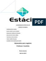 Aplicações Matemáticas Em Finanças
