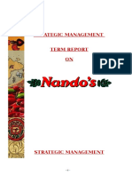 NANDOS-Final Strategic Mgt Report