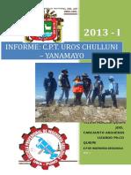 Informe de Campo Chulluni 1