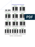 Chord Charts and Major Scales