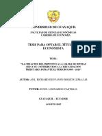 Tesis Final-impuesto a La Salida de Divisas (Isd)