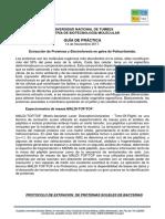 Laboratorio #09 Extraccion de Proteinas (1) Practica Inca Biotec