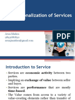 Internationalization of Services