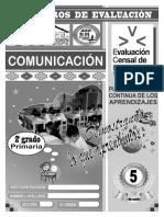 Comunicación v - 2ª Grado