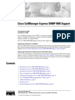 Cisco CallManager Express 3.4 SNMP MIB Support