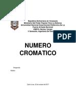 Numero Cromatico