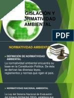 Ligislación y Normatividad Ambiental