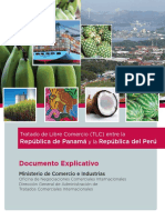 Documento Explicativo Panama Peru