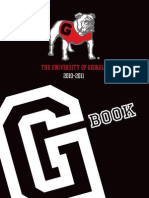 The University of Georgia G Book 2010 - 2011