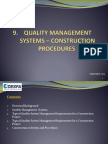 Quality Management system - Construction Procedures.pdf
