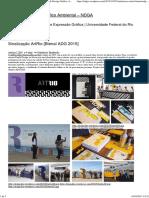 Sinalização ArtRio [Bienal ADG 2015]