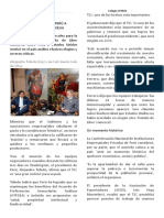 ELOGIOS Y CRÍTICAS EN PERÚ A ACUERDO DE TLC CON EEUU.docx