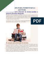 CONSEJOS PARA FOMENTAR LA LECTURA.docx