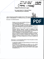 Ndindiliyimana Et Al - Rapport de Bernard Lugan - Temoin Expert Devant Le Tribunal Penal International Pour Le Rwanda