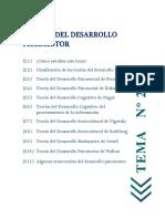 Tema 2 Teorias Del Desarrollo Psm