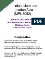 Tamadun Islam Dan Tamadun Asia (MPU3052)
