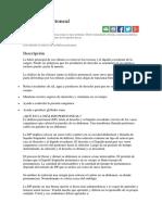 Diálisis peritonial