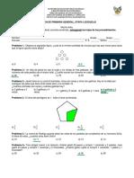 2 Respuestas de Examen Primaria, Etapa I