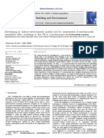 Developing an Indoor Environment Quality Tool for Assessment of Mechanically Ventilated Office Buildings in the UK e a Preliminary Study