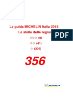 2018 Italy Michelin Guide