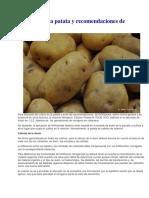 Abonado de La Patata y Recomendaciones de Fertilización