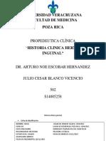 Historia Clinica Hernia Inguinal