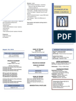 Church Bulletin - Word Template1