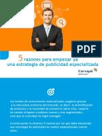WF2 ES eBook 1 5 Razones Para Empezar Ya Una Estrategia de Pauta Especializada CARVAJAL Espanol
